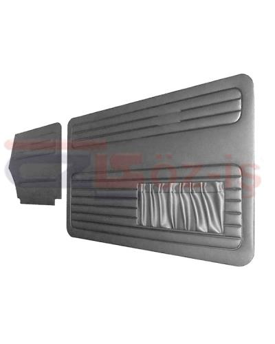 VW OLD BEETLE 1300 - 1303 CABRIO DOOR PANEL SET GREY