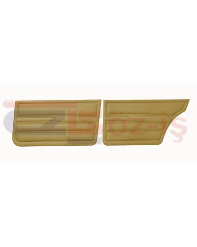 VW GOLF 1 JETTA 79-83 INTERIOR DOOR PANELS BEIGE
