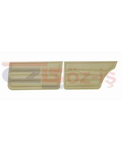 VW GOLF 1 JETTA 79-83 INTERIOR DOOR PANELS CREAM