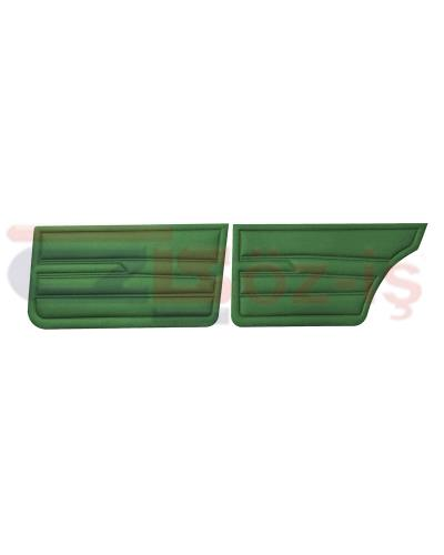 VW GOLF 1 JETTA 79-83 INTERIOR DOOR PANELS GREEN