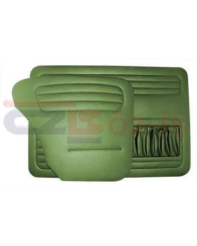 VW OLD BEETLE 1200 DOOR PANEL SET GREEN 1958 - 1964
