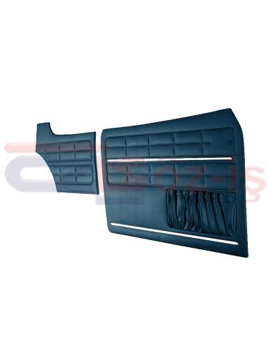 VW KARMANN GHIA DOOR PANEL SET DARK BLUE