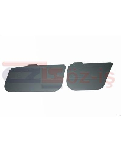 TOYOTA COROLLA GL 101 DOOR PANEL SET PVC LEATHER 4 PCS