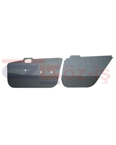 TOYOTA COROLLA XL OPT 101 DOOR PANEL SET FABRIC COVER 4 PCS