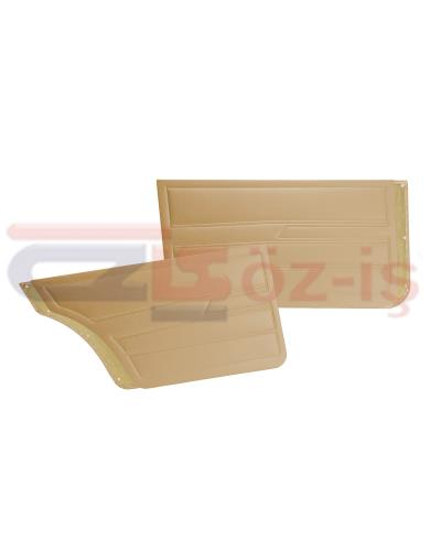 VW GOLF 1  1976-1983 DOOR PANEL SET BEIGE SEDAN