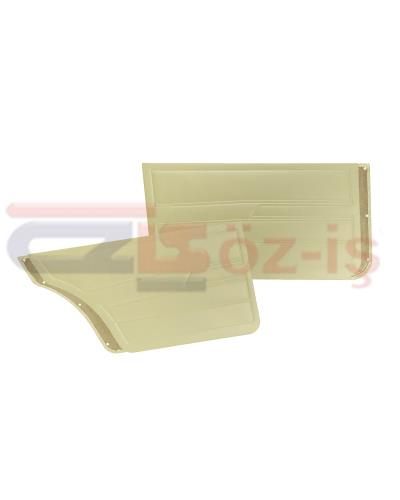 VW GOLF 1  1976-1983 DOOR PANEL SET CREAM SEDAN