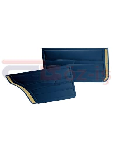 VW GOLF 1  1976-1983 DOOR PANEL SET DARK BLUE SEDAN