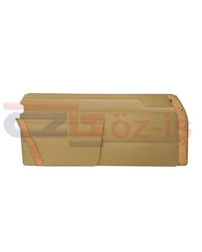 MERCEDES W114 COUPE DOOR PANEL SET BEIGE