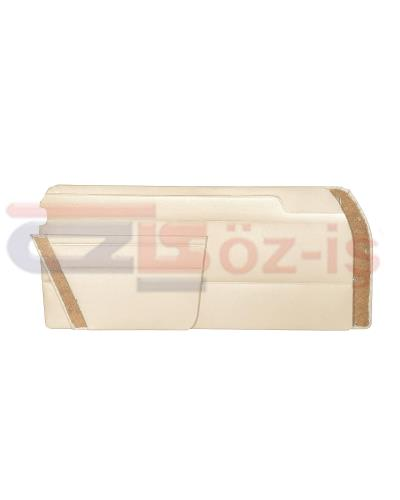 MERCEDES W114 COUPE DOOR PANEL SET CREAM