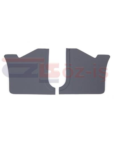 FORD TAUNUS 1978 - 1993 INTERIOR PEDAL SIDE PANELS 2 PCS GREY