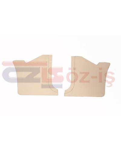 FORD TAUNUS 1978 - 1993 INTERIOR PEDAL SIDE PANELS 2 PCS CREAM