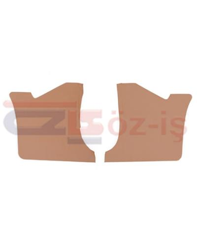 FORD TAUNUS 1978 - 1993 INTERIOR PEDAL SIDE PANELS 2 PCS TOBACCO