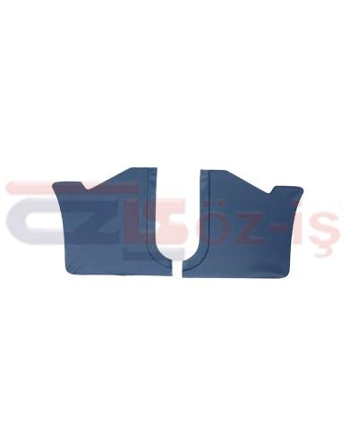 FORD TAUNUS 1978 - 1993 INTERIOR PEDAL SIDE PANELS 2 PCS DARK BLUE