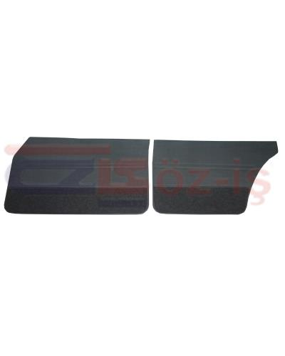 FORD TAUNUS 1978 - 1993 INTERIOR DOOR PANEL SET 4 PCS WITH CARPET DARK BLUE