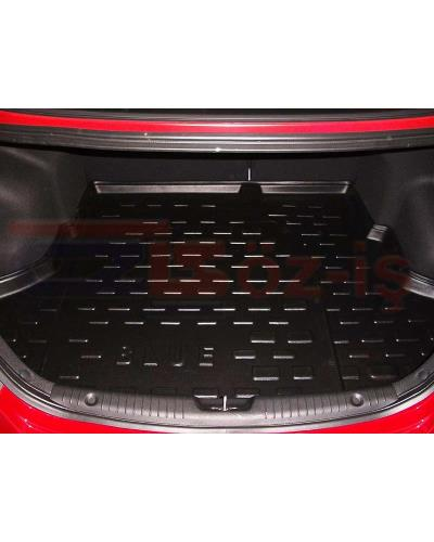 HYUNDAI ACCENT BLUE SEDAN 2011 3D TRUNK MAT