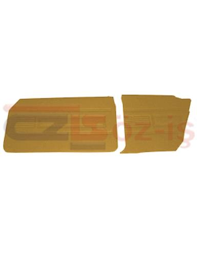 FORD 69-72 17M / 20M COUPE DOOR PANEL SET TOBACCO