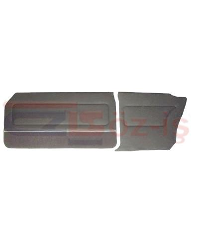 FORD 69-72 17M / 20M COUPE DOOR PANEL SET CARPET & NICKEL GREY