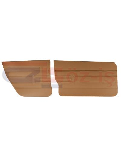 AUDI 80 -1980 DOOR PANEL SET 4 PCS TOBACCO