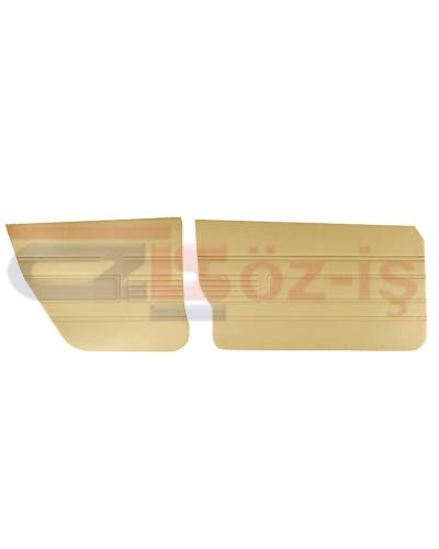 AUDI 80 -1980 DOOR PANEL SET 4 PCS BEIGE