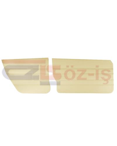AUDI 80 -1980 DOOR PANEL SET 4 PCS CREAM