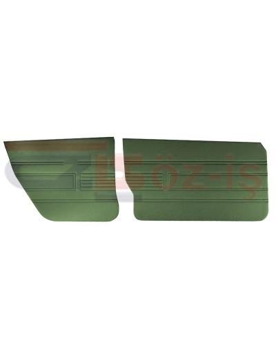 AUDI 80 -1980 DOOR PANEL SET 4 PCS GREEN