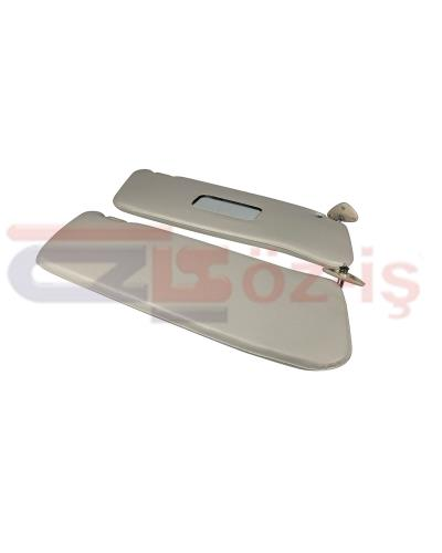 MERCEDES W115 & W114 SUNVISOR UNPERFORATED CREAM