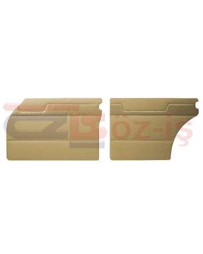 MERCEDES W110 DOOR PANEL SET BEIGE