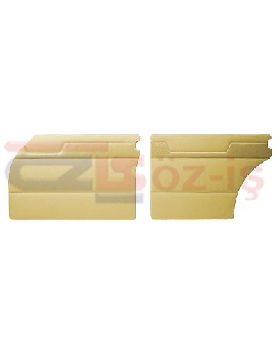 MERCEDES W110 DOOR PANEL SET CREAM