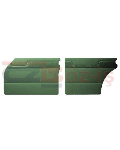 MERCEDES W110 DOOR PANEL SET GREEN