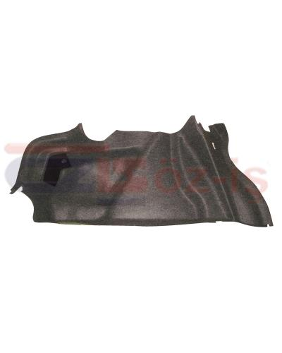 RENAULT MEGANE 2 TRUNK SIDE CARPET L84 SEDAN LEFT
