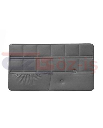 IVECO 50 NC TRUCK INTERIOR DOOR PANELS 2 PCS GREY