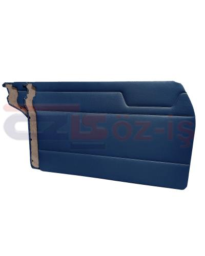 MERCEDES W115 DOOR PANEL SET DARK BLUE