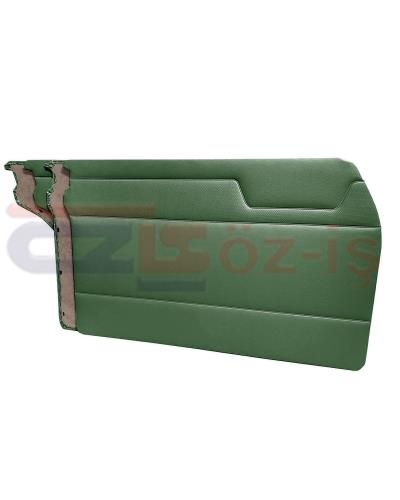 MERCEDES W115 DOOR PANEL SET GREEN