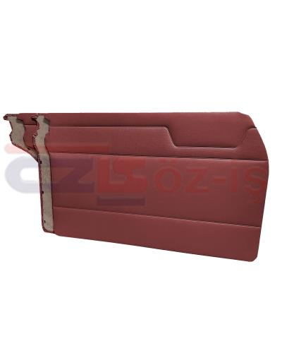 MERCEDES W115 DOOR PANEL SET BURGUNDY