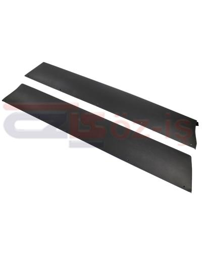 FIAT SPIDER DOOR IRON PLATE BLACK 1979 - 1982