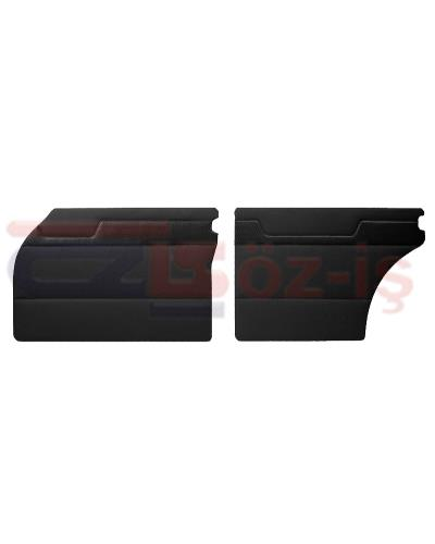 MERCEDES W110 DOOR PANEL SET BLACK