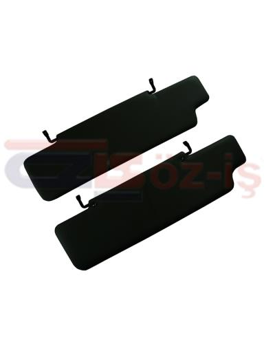 LAN ROVER DEFENDER INTERIOR SUN VISOR SET BLACK 2 PCS