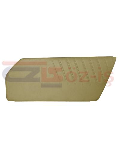 PORSCHE 911 DOOR PANEL SET BEIGE 2 PCS 1977 - 1993