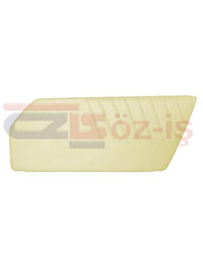 PORSCHE 911 DOOR PANEL SET CREAM 2 PCS 1977 - 1993