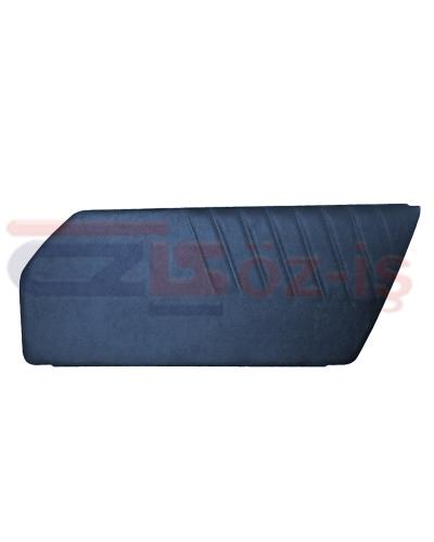 PORSCHE 911 DOOR PANEL SET DARKBLUE 2 PCS 1977 - 1993