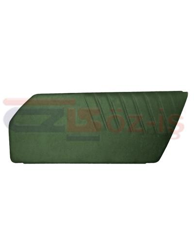 PORSCHE 911 DOOR PANEL SET GREEN Y 2  PCS 1977 - 1993