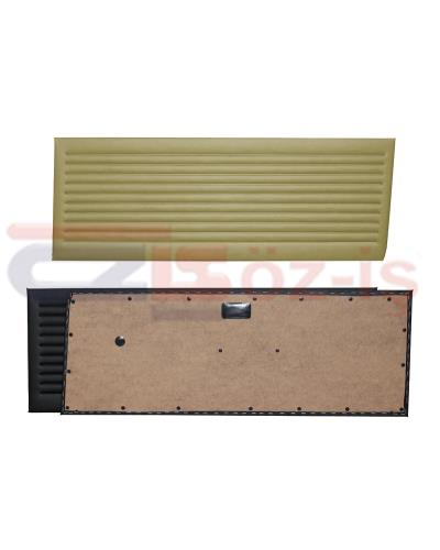 OPEL KADETT C COUPE DOOR PANEL SET BEIGE 2 PCS 1973 - 1979