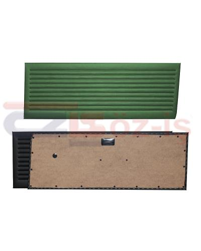 OPEL KADETT C COUPE DOOR PANEL SET GREEN 2 PCS 1973 - 1979