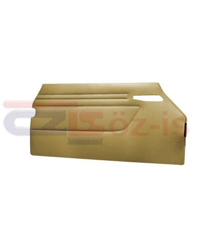 MERCEDES R107 DOOR PANEL SET BEIGE 2 PCS