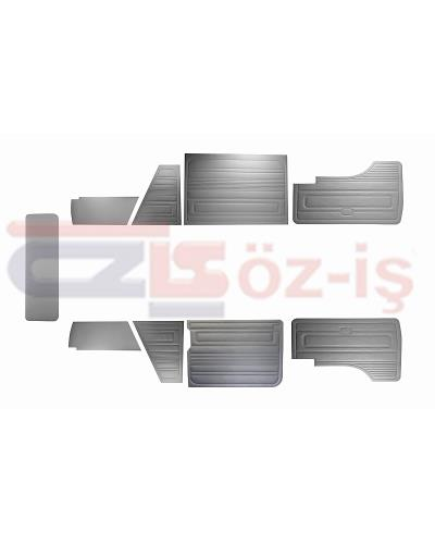 VW T3 T25 BUS 1985-1992 DOOR PANELS 9 PCS GREY LATE STYLE