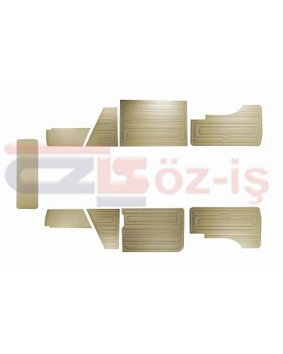VW T3 T25 BUS 1985-1992 DOOR PANELS 9 PCS BEIGE LATE STYLE