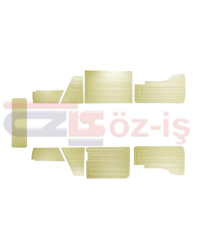 VW T3 T25 BUS 1985-1992 DOOR PANELS 9 PCS CREAM LATE STYLE