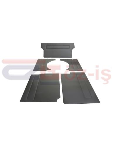 VW T4 BUS SIDE PANELS 5 PCS GREY SHORT WHEEL BASED