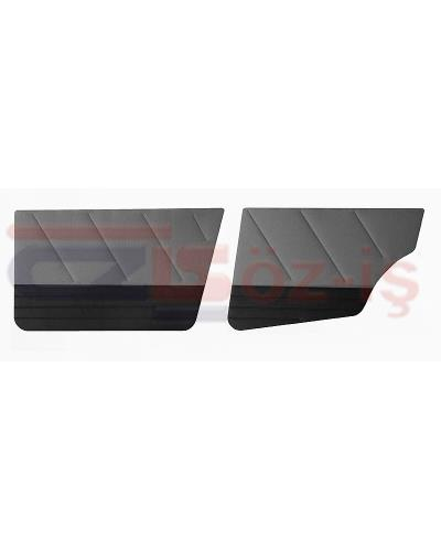 FIAT UNO S DOOR PANEL SET FABRIC COVER 4 PCS