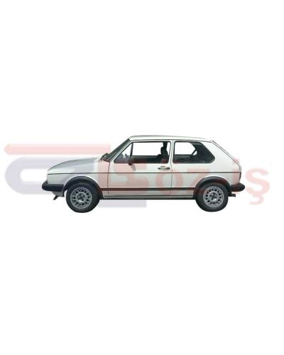 VW GOLF 1 COUPE HEADLINER   - BLACK  -